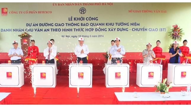 Khởi công xây dựng tuyến đường Đại Lộ Chu Văn An