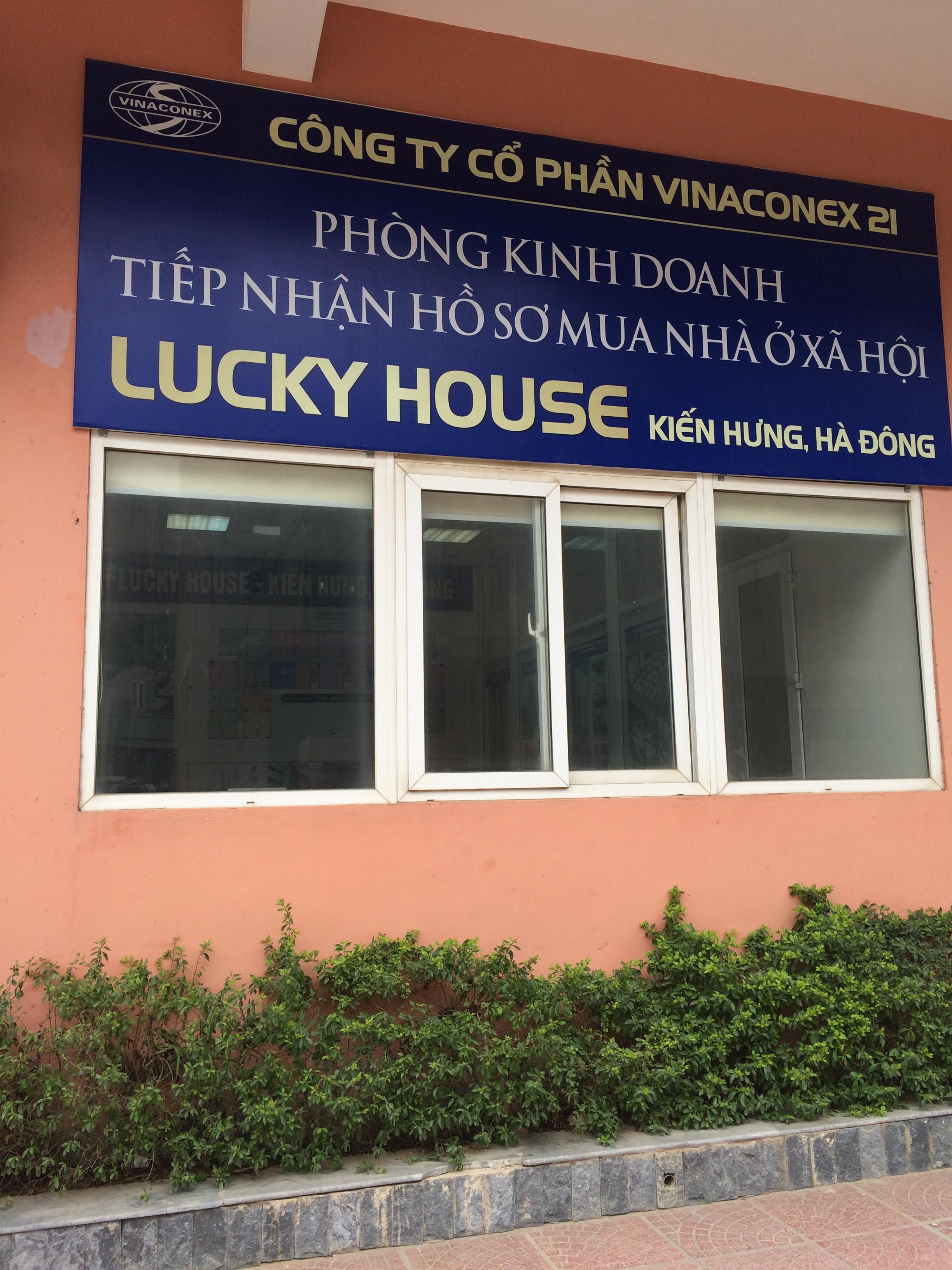 Phòng tiếp nhận HS đăng kí mua căn hộ Lucky House
