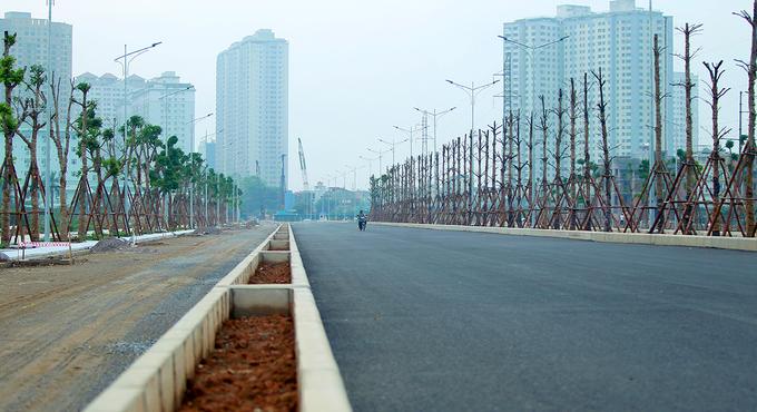 Tiến độ tuyến đường Chu Văn An