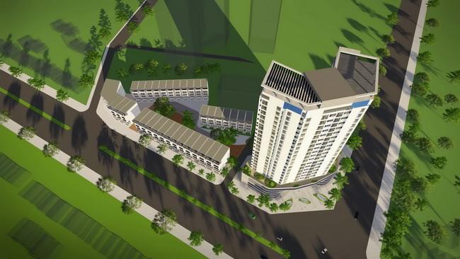 Phối cảnh 3D dự án Newtatco Mỹ Đình