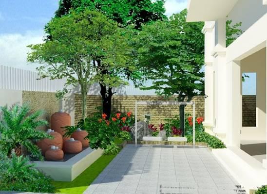 Phong thủy trồng cây trong nhà , ngoài sân