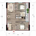 Thiết kế chi tiết căn A3 nhà ở Bộ Công An Cổ Nhuế