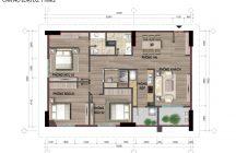 Thiết kế căn hộ D2 nhà ở Bộ Công An Cổ Nhuế