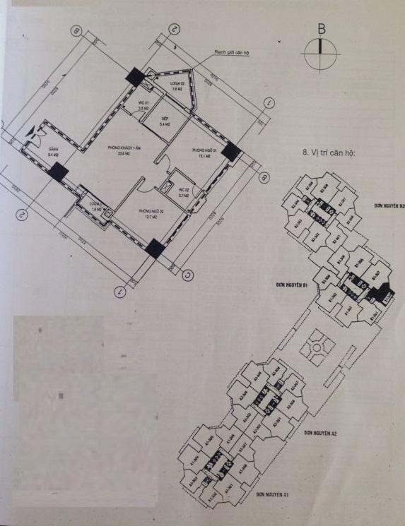 Thiết kế căn hộ Tecco Tower Tứ Hiệp