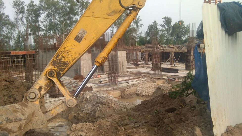 tiến độ xây dựng tòa 19t4 kiến hưng