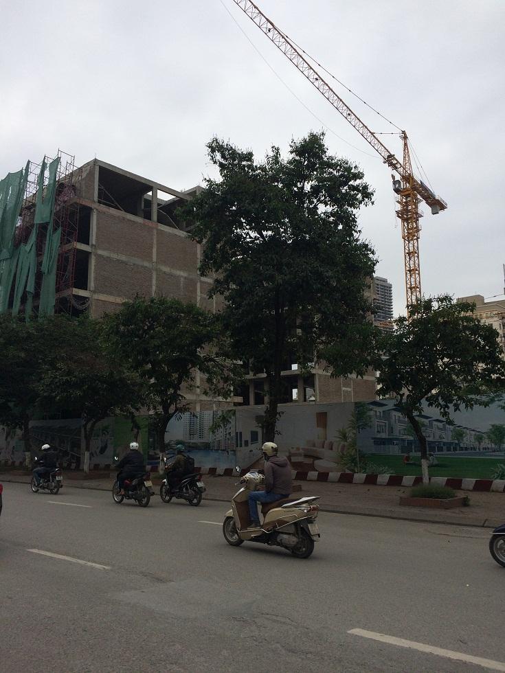 Dự án liền kề phố Wall Trần Thái Tông