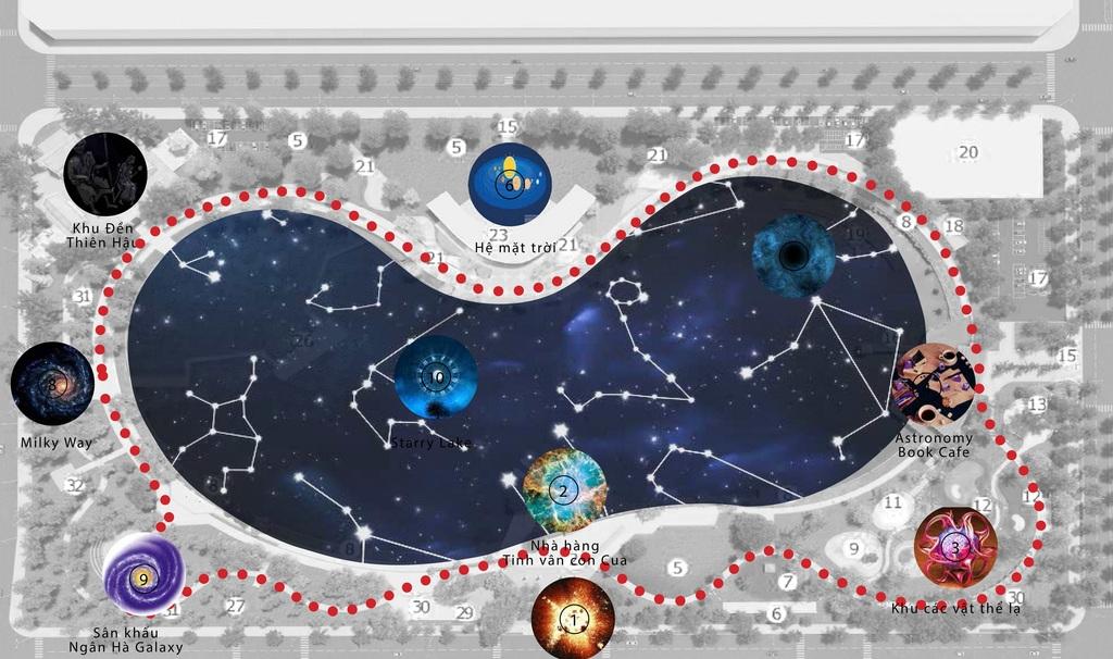 Hồ thiên văn KDT Dương Nội Nam Cường