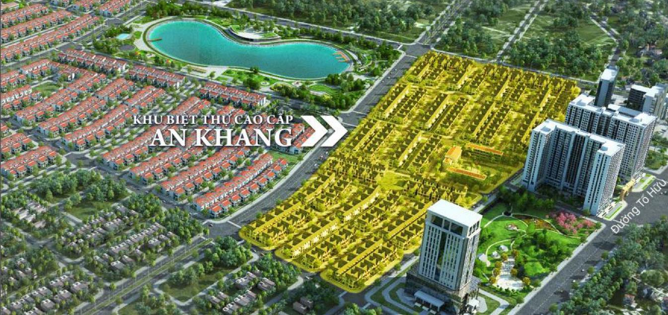 Vị trí An Khang Villas Dương Nội