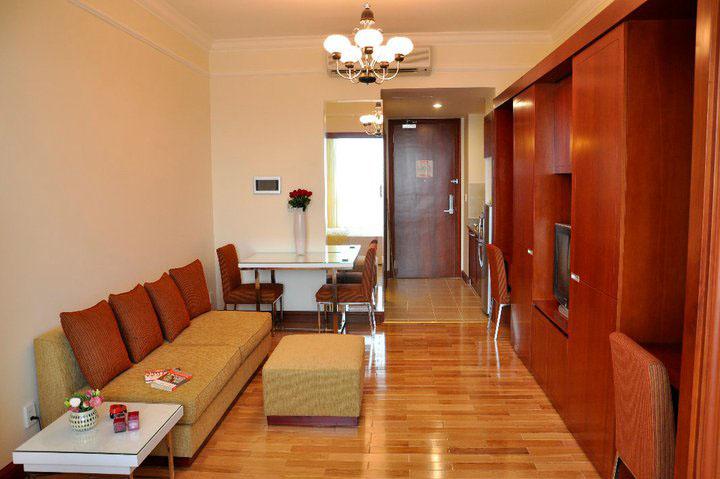 Mẫu căn hộ officetel hà nội trong khu The manor