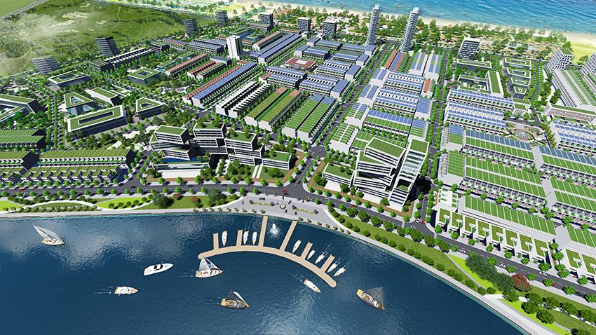 Phối cảnh khu đô thị Ngọc Dương Đà Nẵng