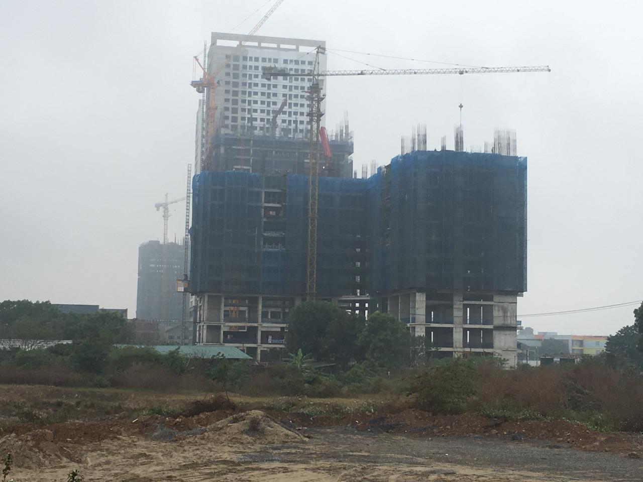 Tiến độ xây dựng chung cư B32 Đại Mỗ