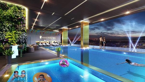 Bể bơi Virgo Hotel Nha Trang