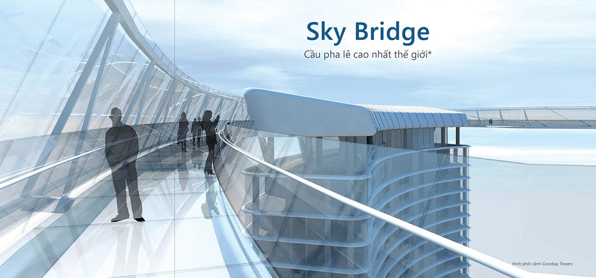 Cầu pha lê tháp đôi Đà nẵng