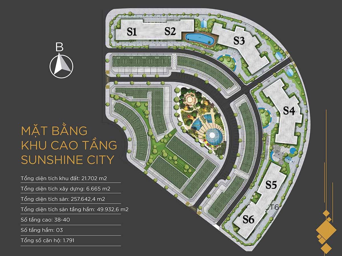 Tòa S1 - S2 Sunshine City