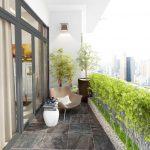 Lô gia đẹp cho căn hộ chung cư