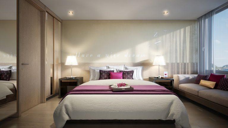 Phòng ngủ Condotel Coco Skyline Resort