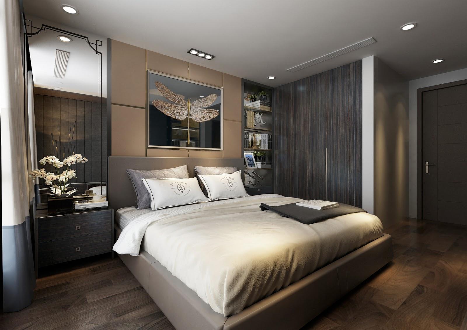 Phòng ngủ căn hộ Sunshine City