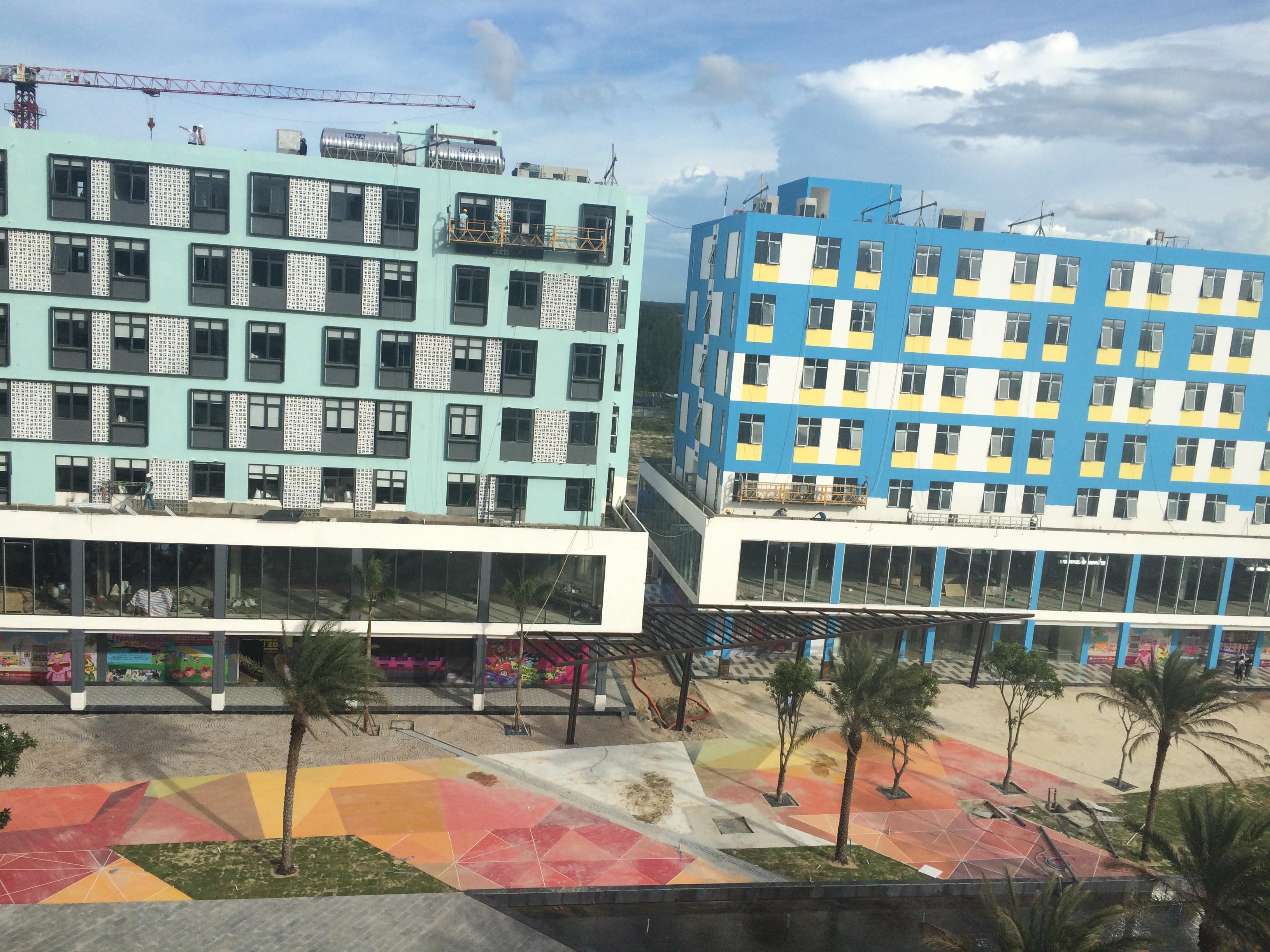 Tiến độ xây dựng Cocobay Đà Nẵng