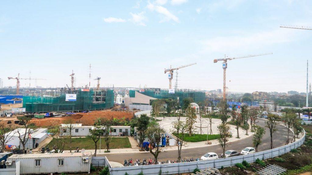 Tiến độ xây dựng sunshine city