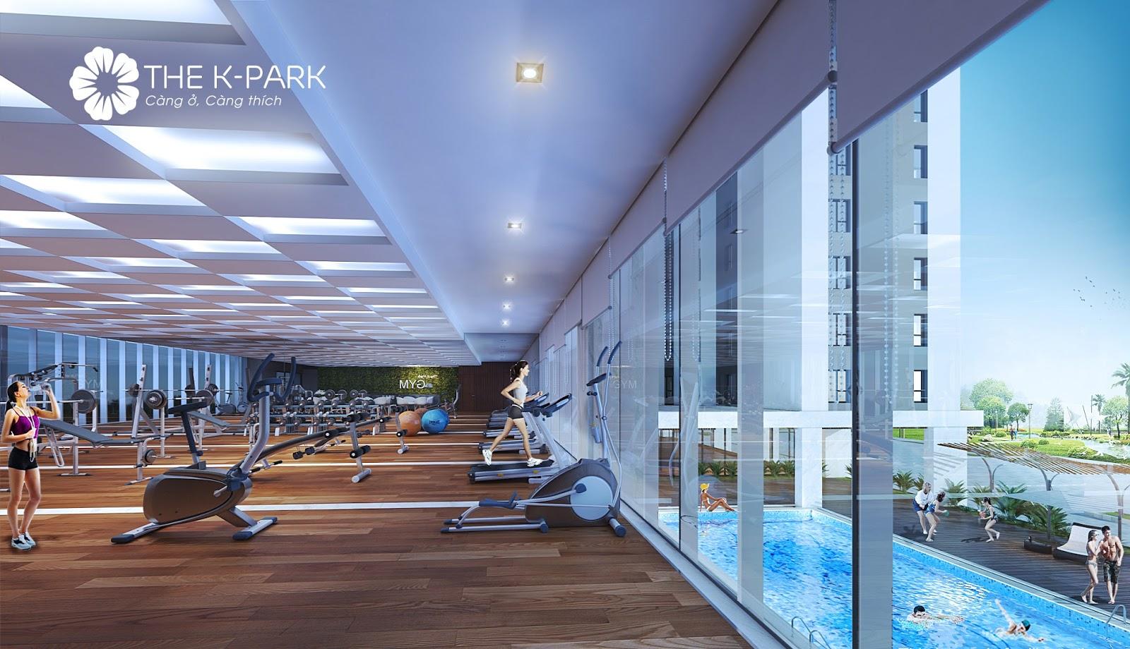 Phòng tập Gym The K Park Văn Phú
