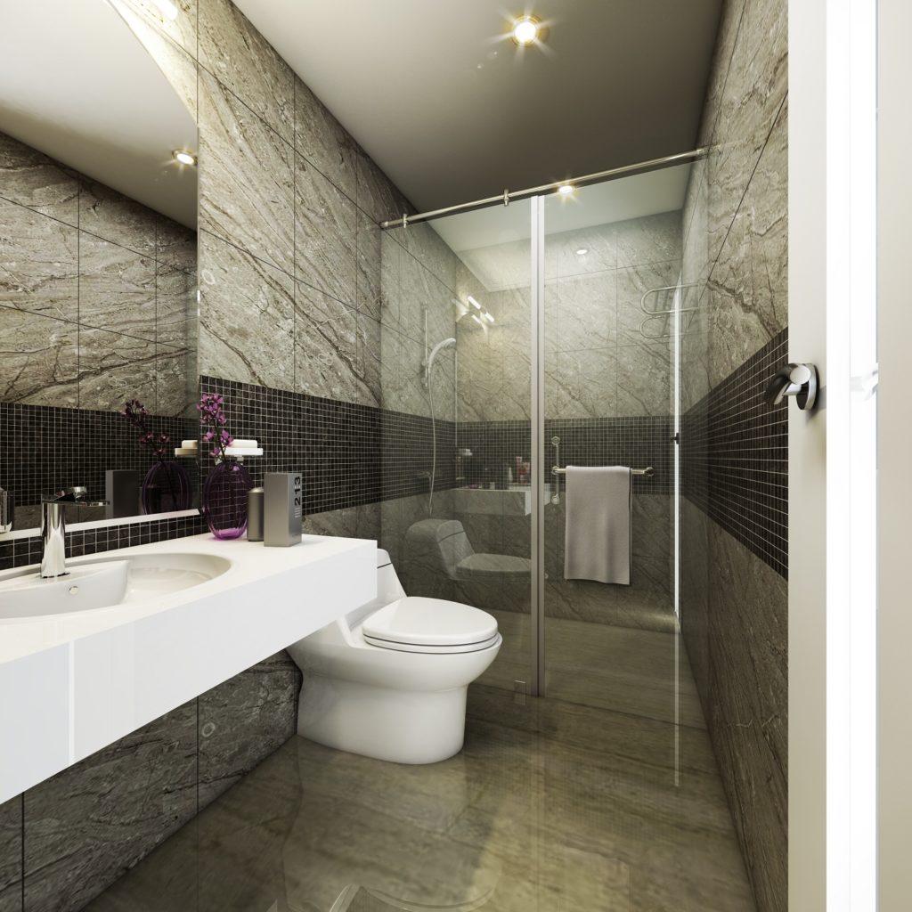 Phòng tắm căn hộ The K Park