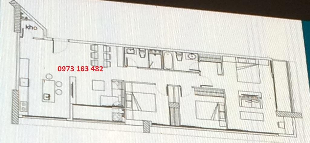 Thiết kế căn hộ Sky Villa Scenia Bay Nha Trang