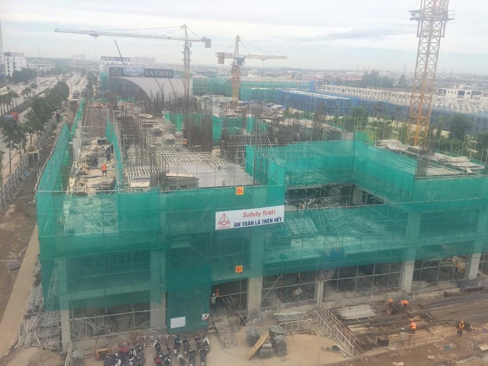 Tiến độ xây dựng dự án chung cư The K Park