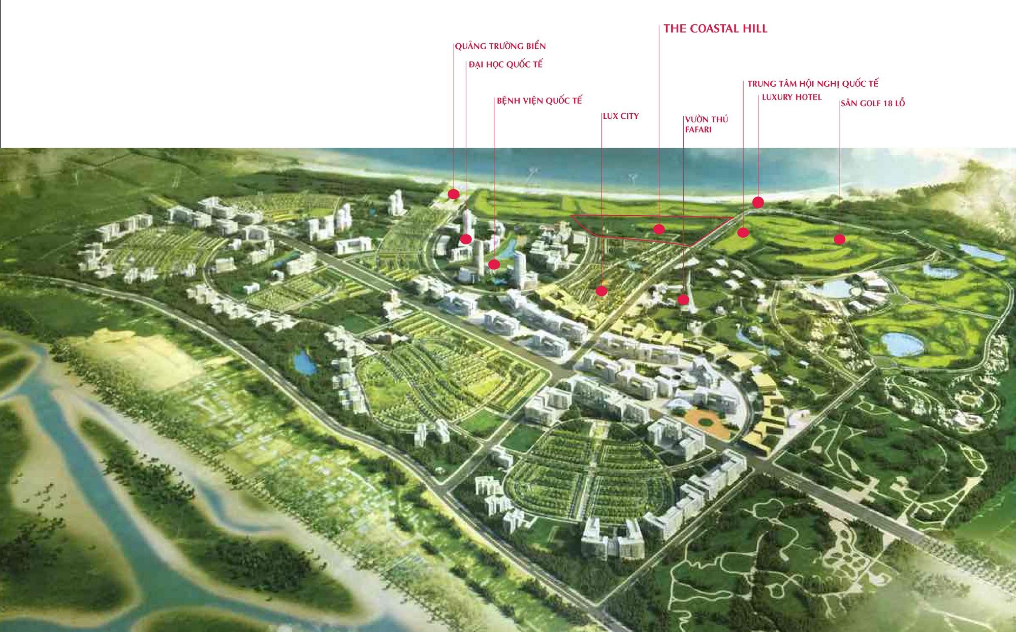 tổng quan The Coastal Hill FLC Quy Nhơn