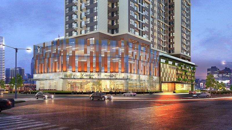 Trung tâm thương mại BRG park Residence