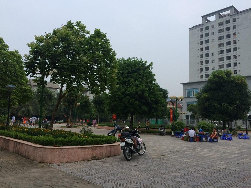 Sân vui chơi KDT Yên Hòa