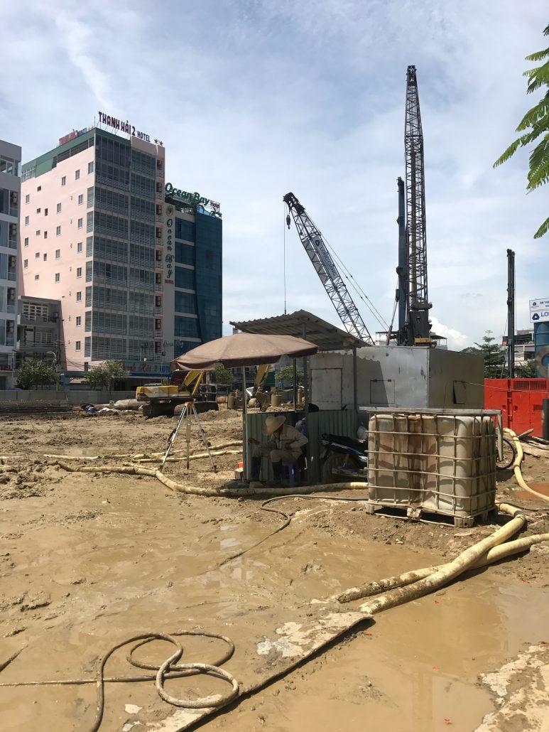 Tiến độ xây dựng Scenia Bay tháng 9