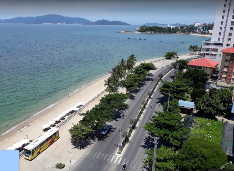 Biển nhà trang nhìn từ Scenia Bay Nha Trang