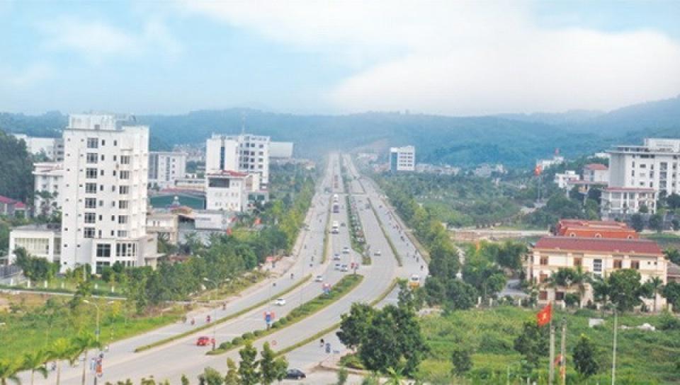 Đường Trần Hưng Đạo do Nam Tiến Lào Cai xây