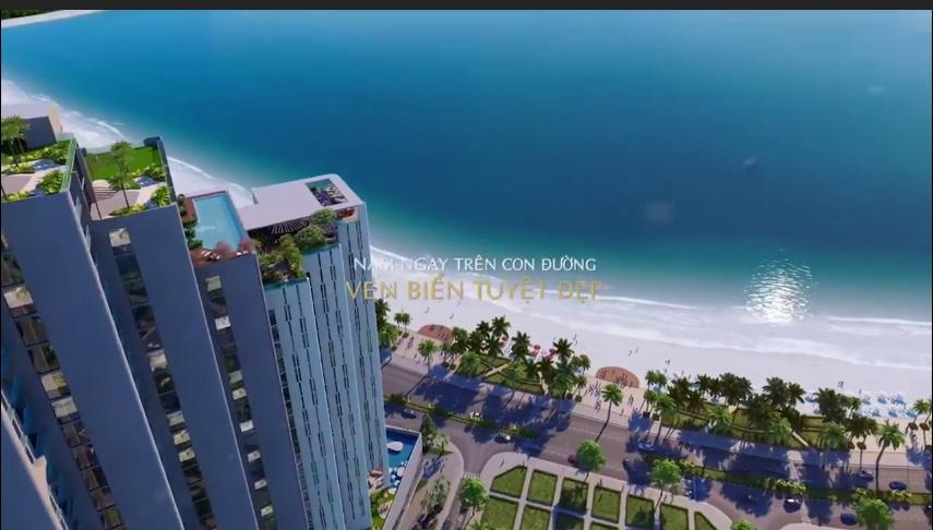 Scenia Bay Nha Trang nhìn từ trên cao
