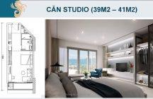 Thiết kế căn hộ Studio Scenia Bay
