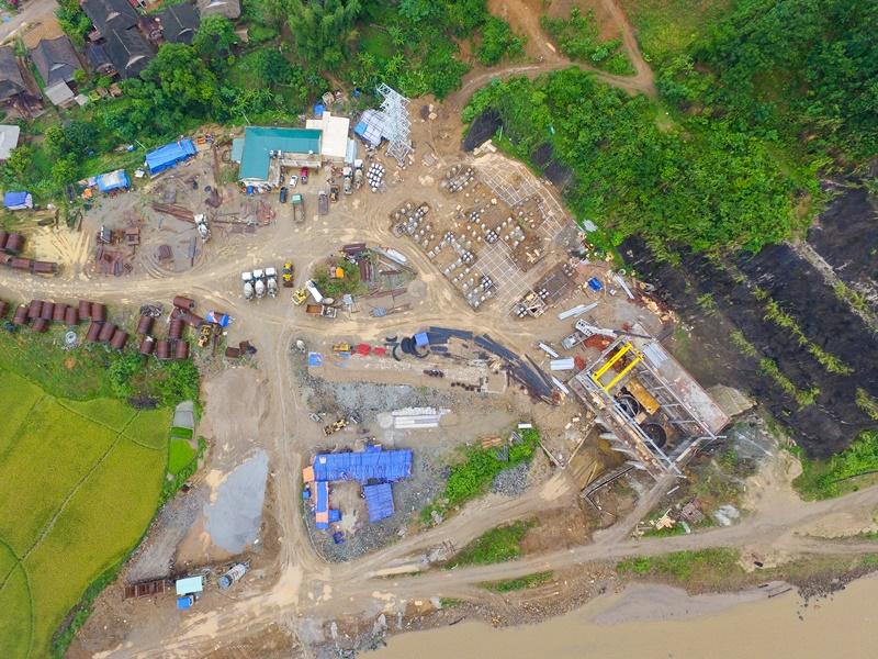 Nam Tiến đang triển khai xây Thủy Điện