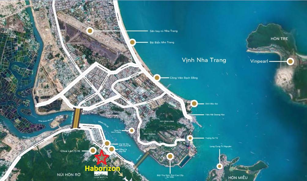 Vị trí Haborizon Nha Trang