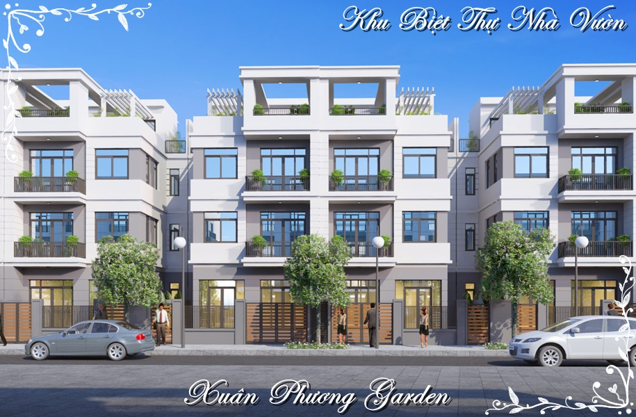 Shophouse Xuân Phương Garden đường Trần Hữu Dực
