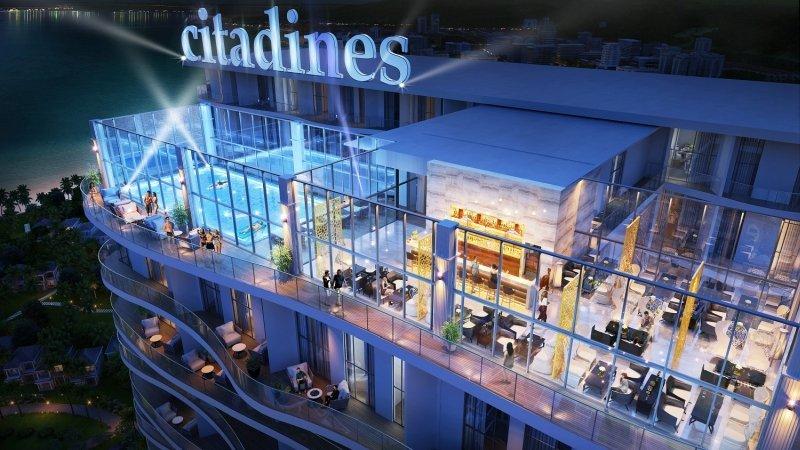 Bể bơi và nhà hàng Citadines Hạ Long