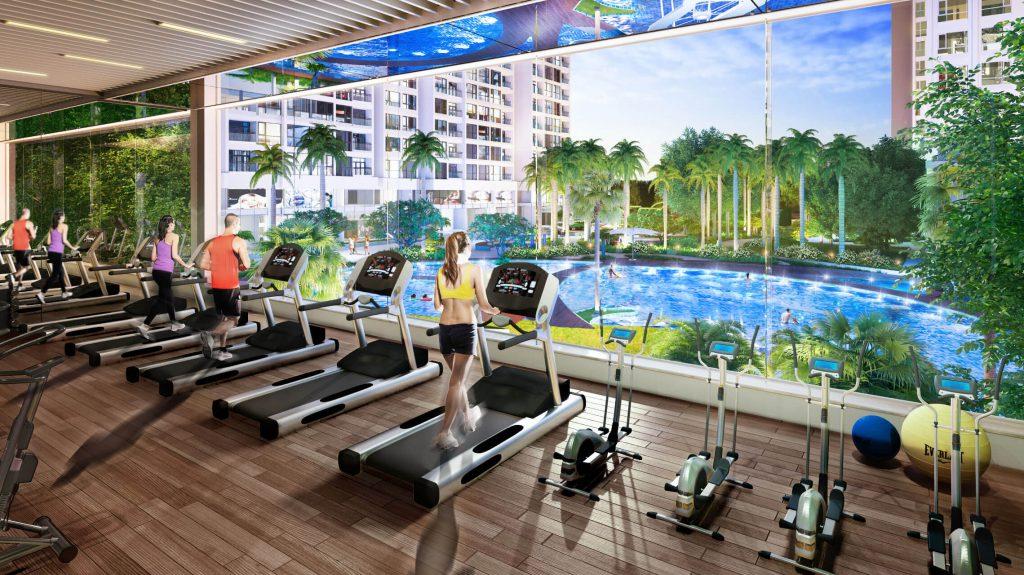 Phòng Gym Citadines Hạ Long