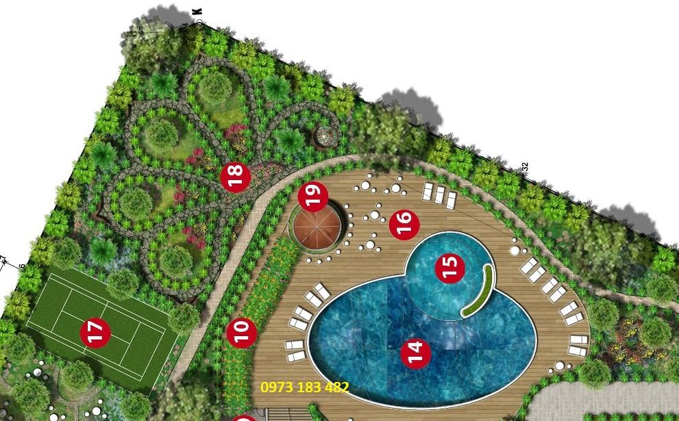 Bể bơi Iris Garden Trần Hữu Dực
