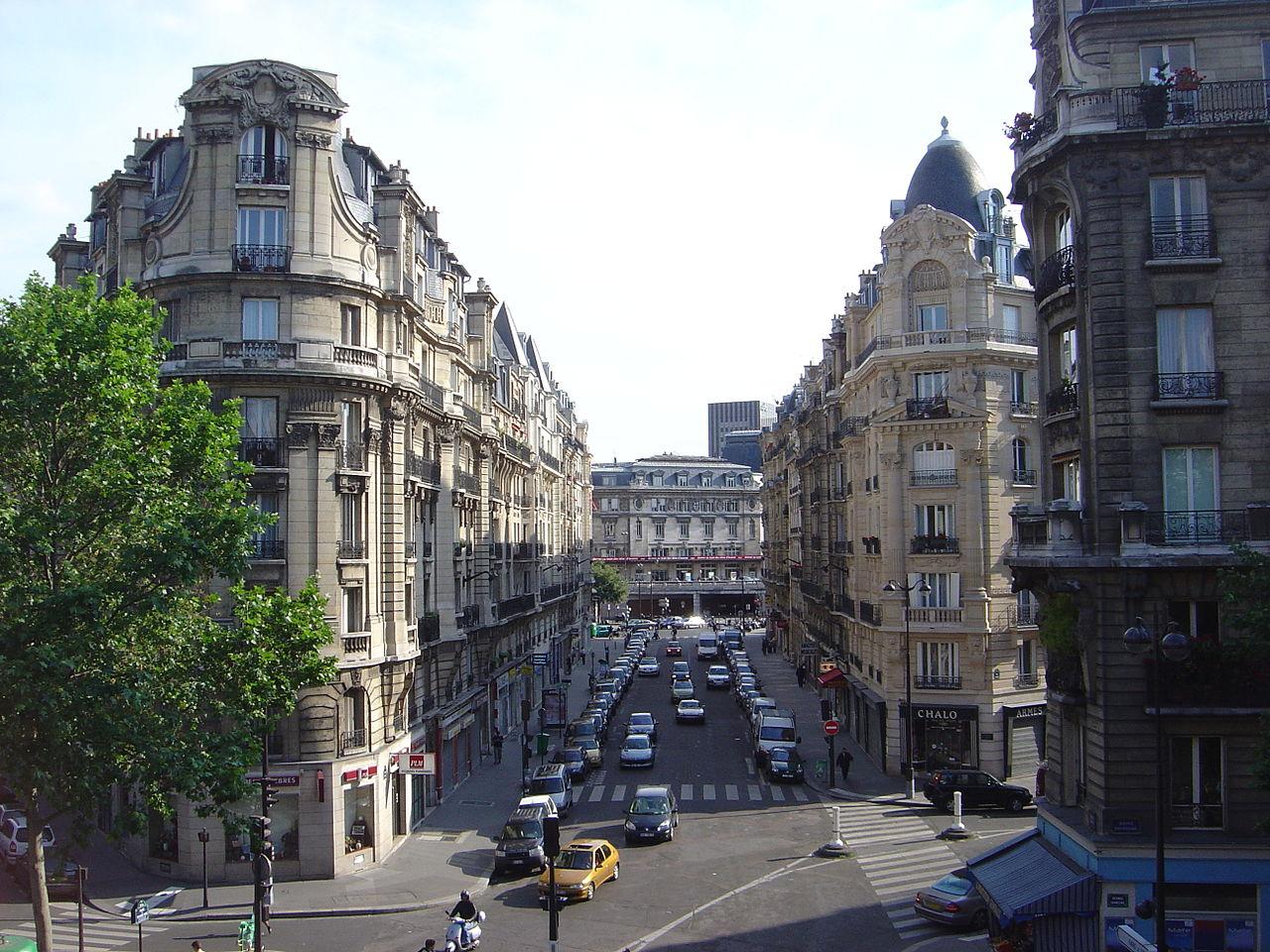 Khung cảnh Phố Belleville Paris