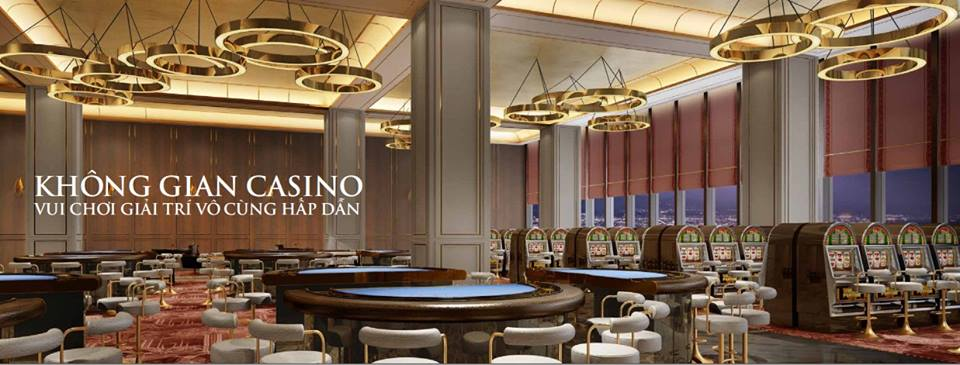 Phòng chơi Casino tại La Luna Resort Nha Trang