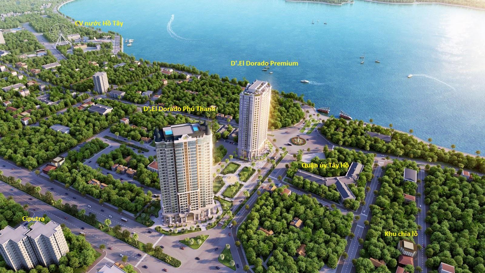 Dự án D'.el Dorado Phú Thanh Võ Chí Công