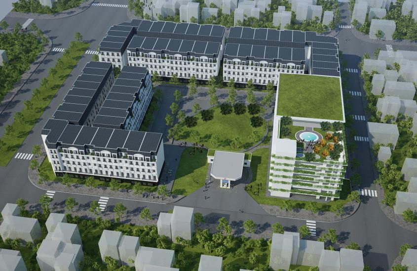 Dự án B4 Nam Trung Yên - Belleville