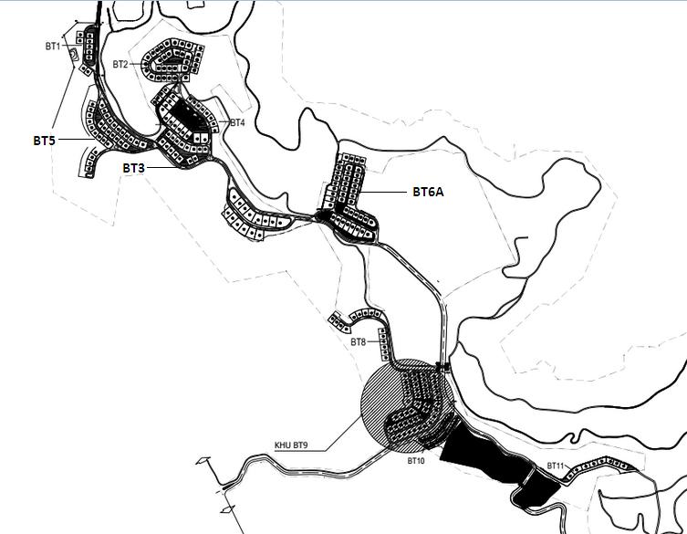 Vị trí các lô biệt thự FLC Hạ Long
