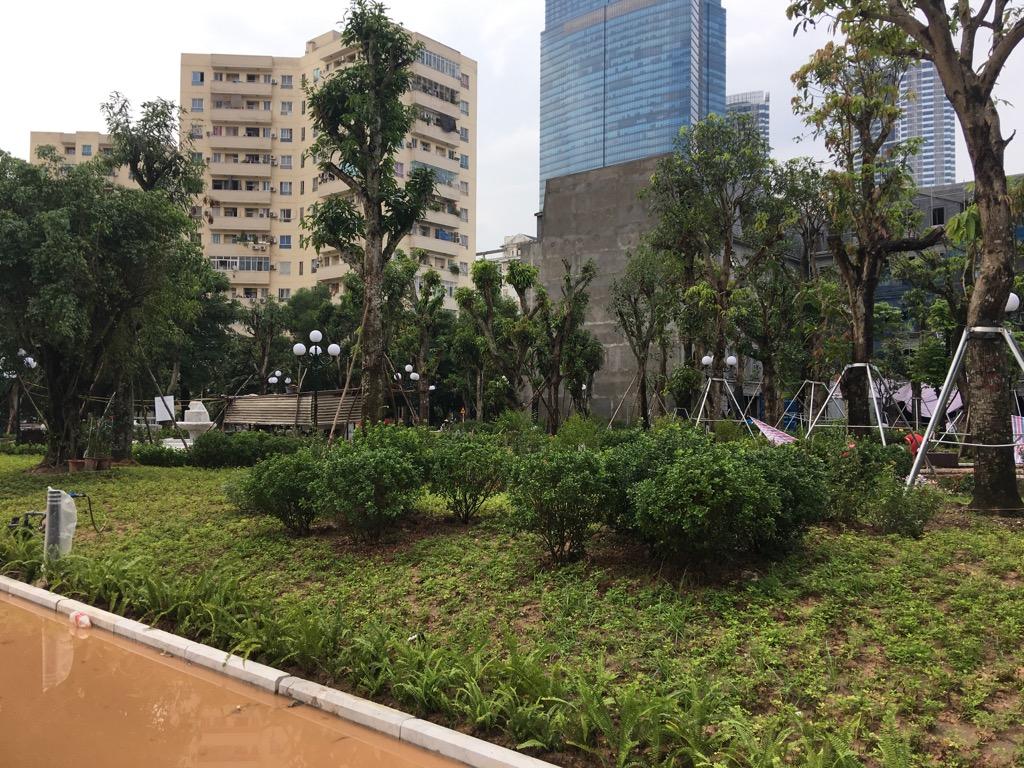Vườn hoa liền kề B4 Nam Trung Yên