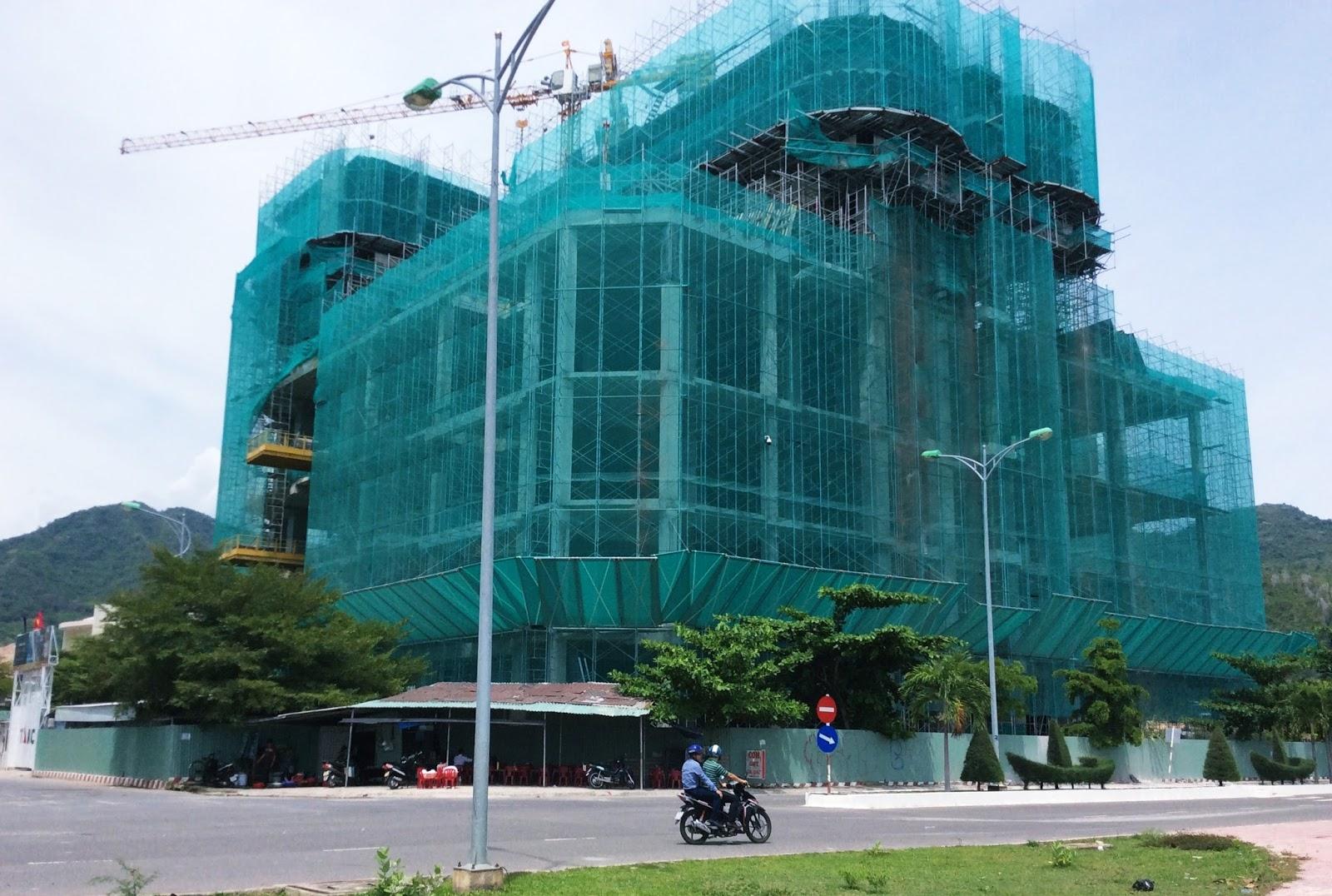 Tiến độ xây dựng La Luna Nha Trang