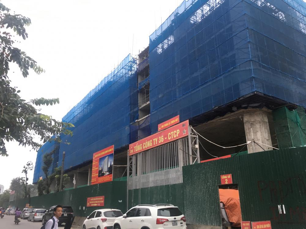Tiến độ xây dựng dự án B6 Giảng Võ