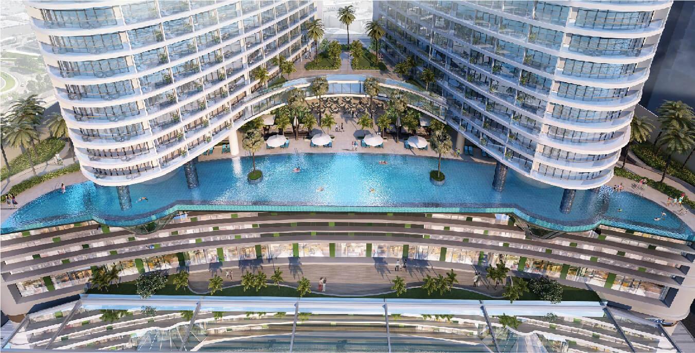 Bể bơi Beau Rivage Nha Trang